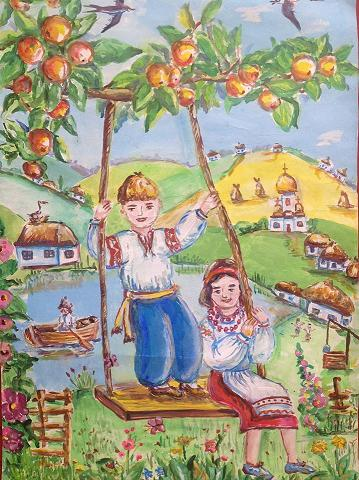 Завершується прийом робіт на фестиваль дитячих малюнків «Омріяна ...